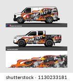 truck and vehicle graphic... | Shutterstock .eps vector #1130233181