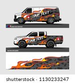truck and vehicle graphic... | Shutterstock .eps vector #1130233247