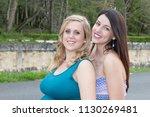 women friendship concept girls...   Shutterstock . vector #1130269481