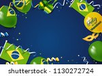 7 september brazil happy... | Shutterstock .eps vector #1130272724