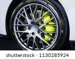 car max wheel.magnesium alloy... | Shutterstock . vector #1130285924