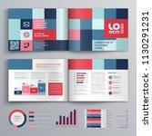 business brochure template... | Shutterstock .eps vector #1130291231
