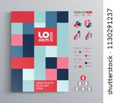 business brochure template... | Shutterstock .eps vector #1130291237