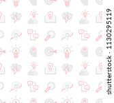 seamless pattern with... | Shutterstock .eps vector #1130295119