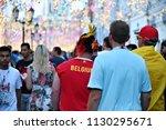 moscow  russia   june 23  2018  ... | Shutterstock . vector #1130295671