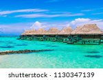 luxury beach travel vacation... | Shutterstock . vector #1130347139