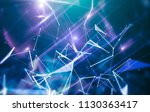 blue abstract background... | Shutterstock . vector #1130363417