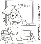 coloring page outline of... | Shutterstock .eps vector #1130377454