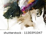 abstract oil painting... | Shutterstock . vector #1130391047