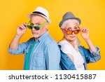 listen to us you small little... | Shutterstock . vector #1130415887