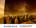 Storm Above Manhattan...
