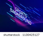 color sports poster. for your... | Shutterstock .eps vector #1130425127