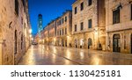 classic panoramic view of... | Shutterstock . vector #1130425181