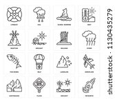 set of 16 icons such as...   Shutterstock .eps vector #1130435279