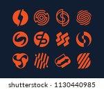 modern professional vector set  ... | Shutterstock .eps vector #1130440985