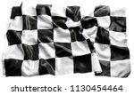 checkered black and white... | Shutterstock . vector #1130454464