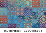digital background art made... | Shutterstock . vector #1130456975
