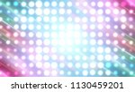 abstract multicolored football... | Shutterstock . vector #1130459201