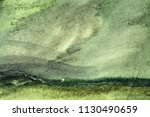 abstract green and blue hue... | Shutterstock . vector #1130490659
