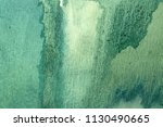 abstract green and blue hue... | Shutterstock . vector #1130490665