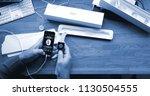 paris  france   apr 12 2018 ... | Shutterstock . vector #1130504555