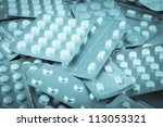 packs of pills.