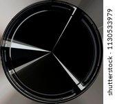digitally rendered circular... | Shutterstock . vector #1130533979