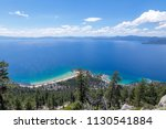 Gorgeous view of Lake Tahoe from the Flume Trail