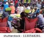 portland  oregon   jul 5  2018  ... | Shutterstock . vector #1130568281