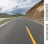 wild field highway  | Shutterstock . vector #1130568329