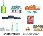 ecology friendly equipped... | Shutterstock .eps vector #1130599064