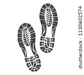 sole print illustration on... | Shutterstock .eps vector #1130602574
