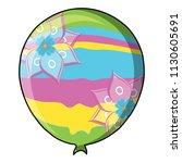 balloon icon image | Shutterstock .eps vector #1130605691