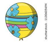 balloon icon image | Shutterstock .eps vector #1130605694