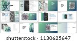 minimal presentations design ...   Shutterstock .eps vector #1130625647