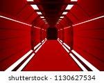 corridors secret building....   Shutterstock .eps vector #1130627534