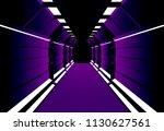 corridors secret building....   Shutterstock .eps vector #1130627561