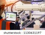 industry 4.0 robot concept ... | Shutterstock . vector #1130631197