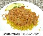 cuisine and food  chicken...   Shutterstock . vector #1130648924