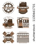 car service and auto part...   Shutterstock .eps vector #1130661731