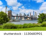 new york  usa  august 07  2017  ... | Shutterstock . vector #1130683901