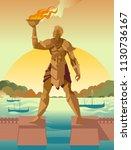 Rhodes Colossus Statue