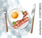 vector 3d realistic... | Shutterstock .eps vector #1130738021