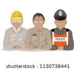 vector set of thai government... | Shutterstock .eps vector #1130738441