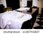 The White Cassock Of The Priest ...