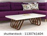 living room interior detail | Shutterstock . vector #1130761604