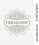green money style emblem or...   Shutterstock .eps vector #1130763665