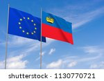 european union and... | Shutterstock . vector #1130770721