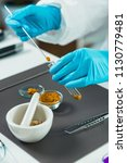 quality control expert... | Shutterstock . vector #1130779481