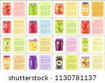 canned products with receipts... | Shutterstock .eps vector #1130781137